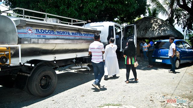 Blessing of INWD's Newly Purchased Water Truck