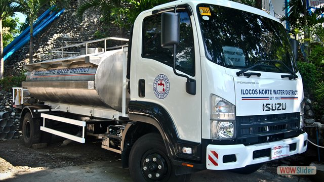 INWD's Newly Purchased Water Truck