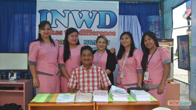 INWD Booth at PGIN's Open Capitol